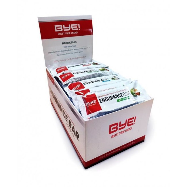 BYE! BYE! Endurance Energy Bar BOITE (30 x40gr)