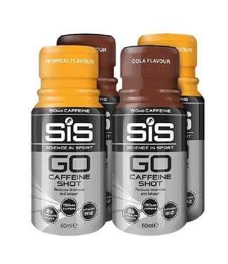 SIS (Science in Sports) SIS Go Caffeine Shot (150mg Caffeine) BUNDLE