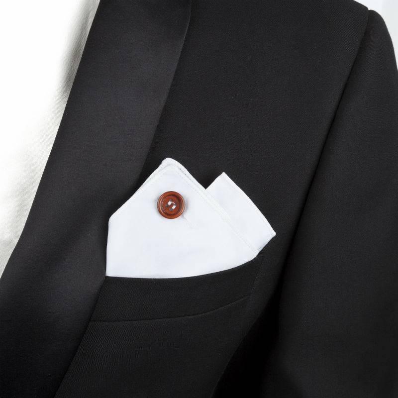 English Fashion pochette Wit van 100% Katoen