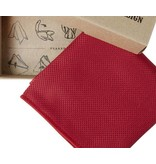 English Fashion pochette Donker Rood - Satijn