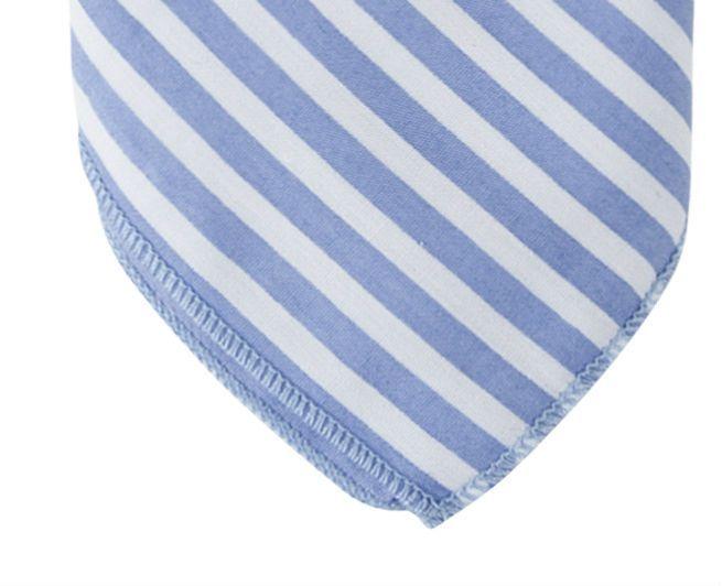 English Fashion Hanky lightblue stripes