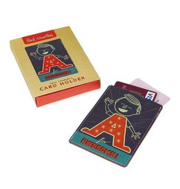 Wild & Wolf Leather Card Holder - Paul Thurlby