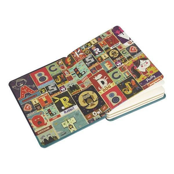 Wild & Wolf A is for Awesome Notebook - Paul Thurlby