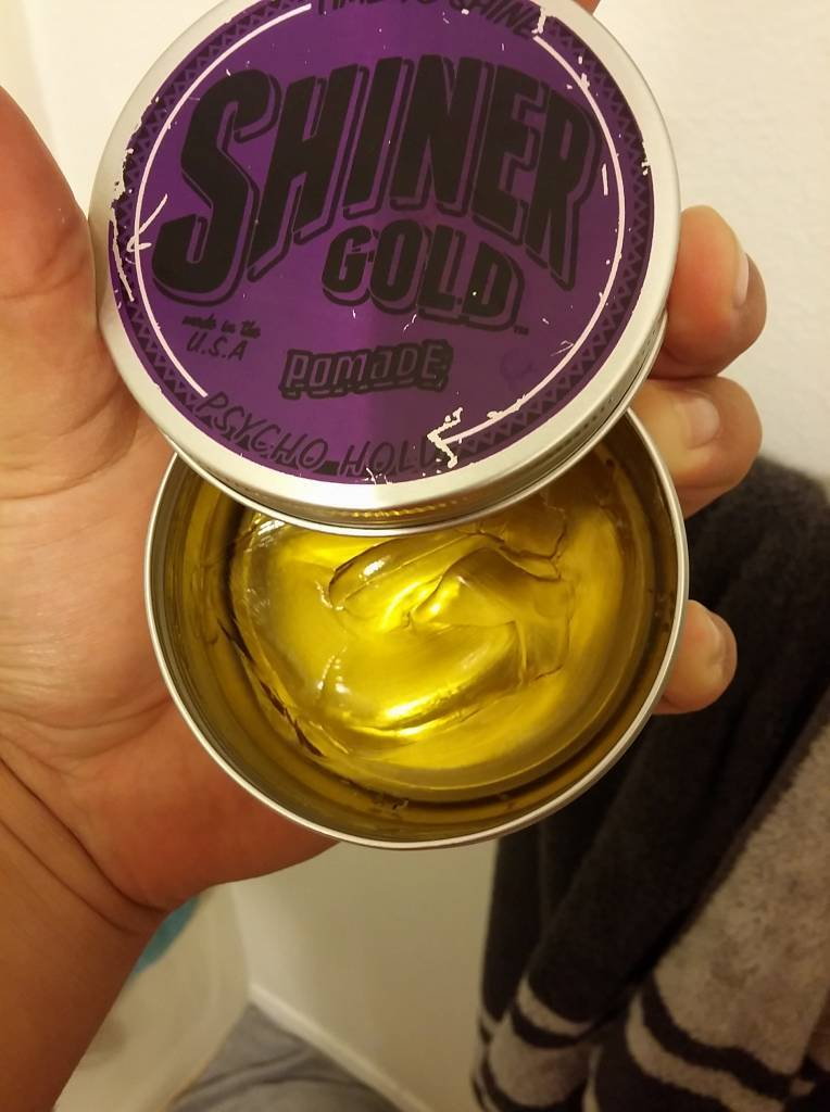 Shiner Gold Psycho Hold Hair Pomade