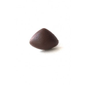 Neus driehoek bruin soft