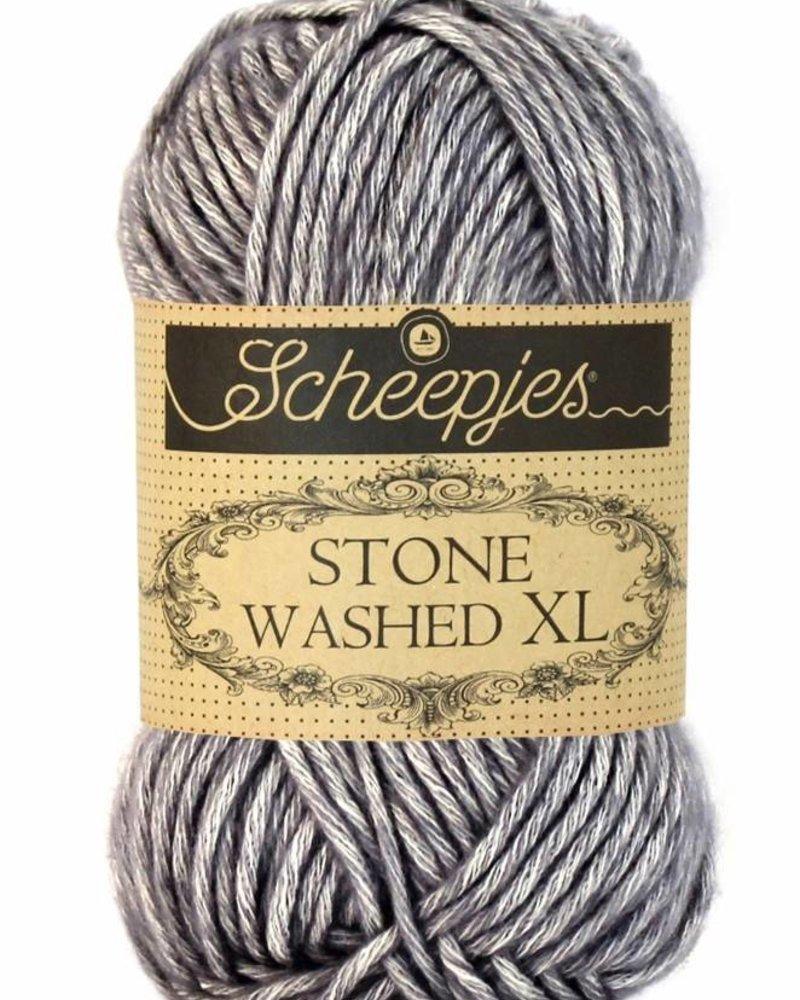 Scheepjeswol Stone Washed XL 842 smokey quartz