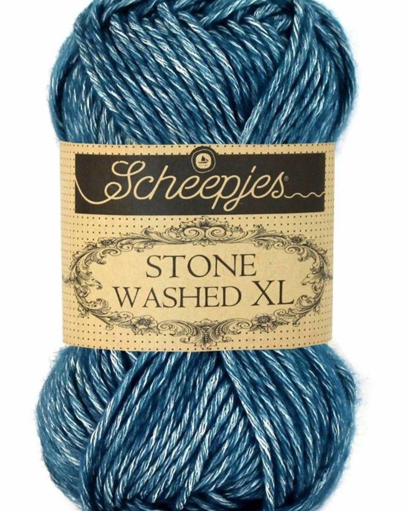 Scheepjeswol Stone Washed XL 845 blue apatite