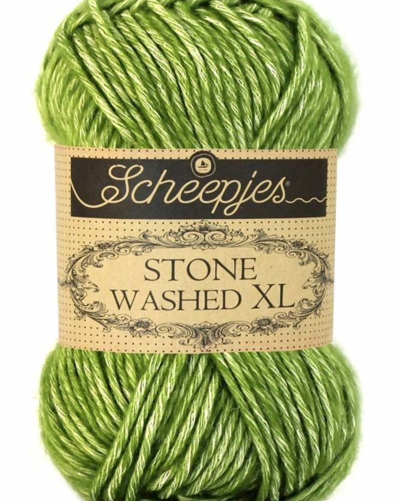 Scheepjeswol Stone Washed XL 846 canada jade