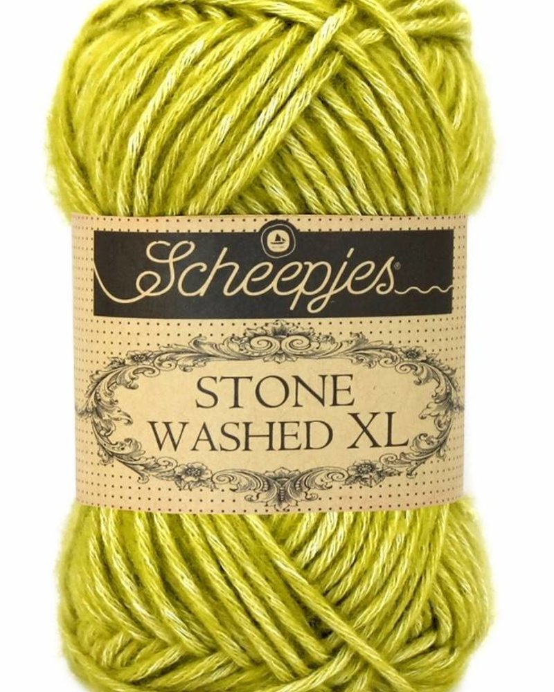 Scheepjeswol Stone Washed XL 852 lemon quartz