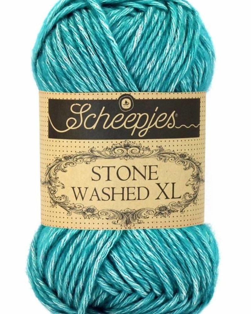 Scheepjeswol Stone Washed XL 855 green agate