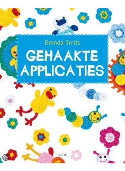 Boek - Gehaakte applicaties