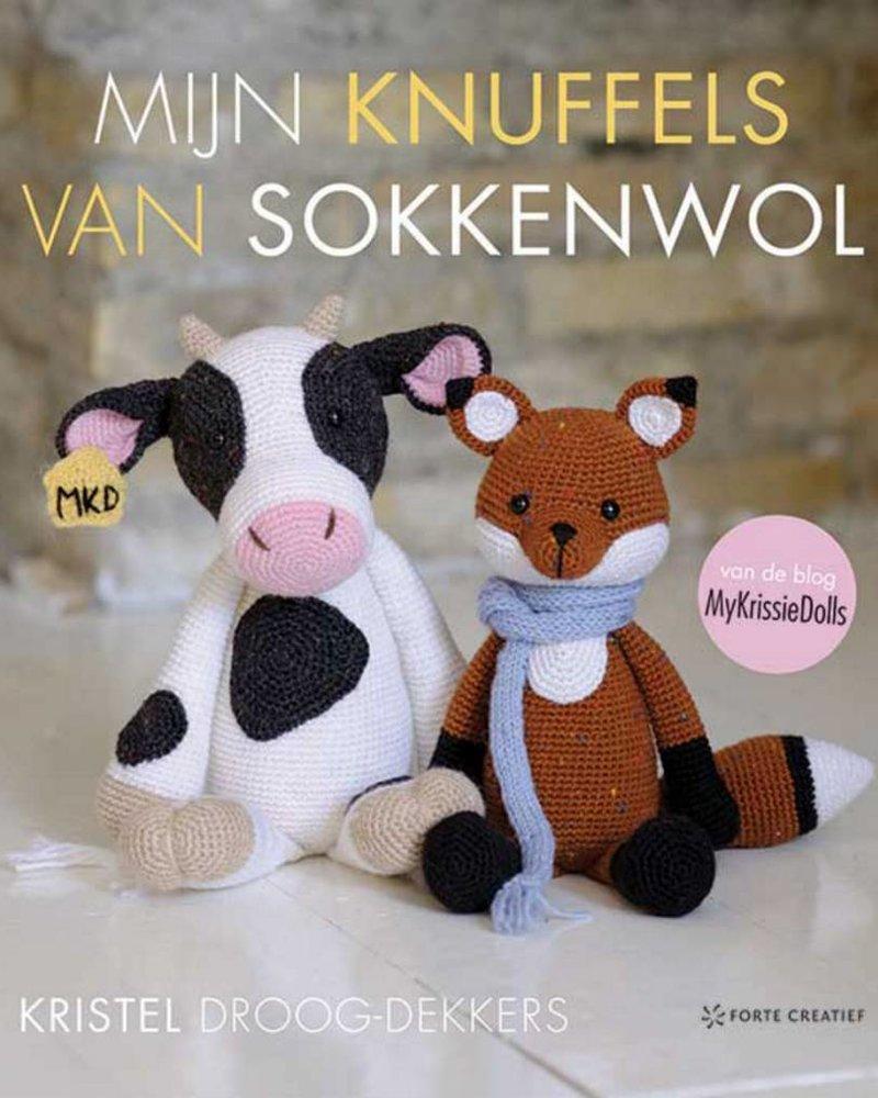Boek - Mijn knuffels van sokkenwol