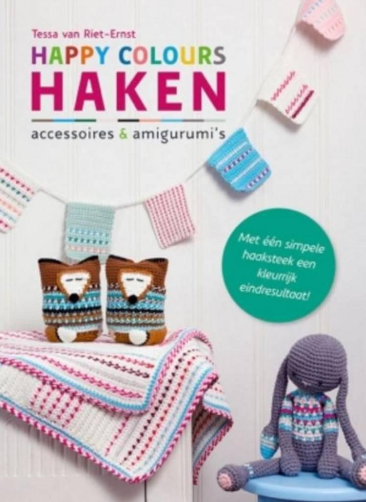 Boek - Happy colours haken