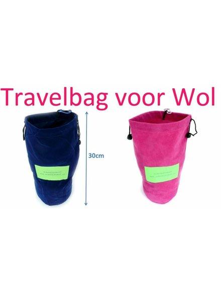 Travelbag roze