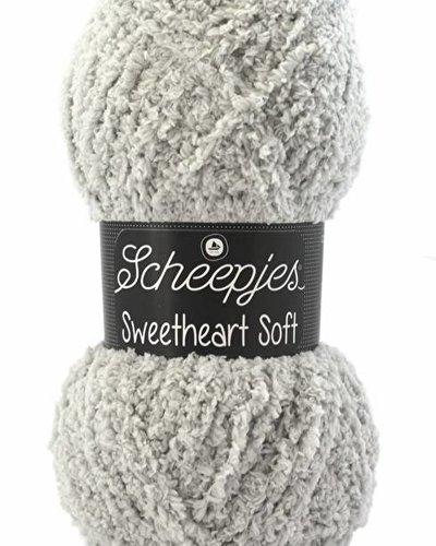 Scheepjeswol Sweetheart 02 lichtgrijs