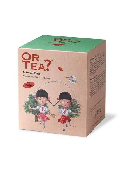 Or tea? A sweet date