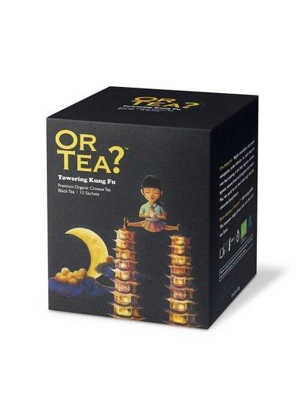 Or tea? Towering Kung Fu