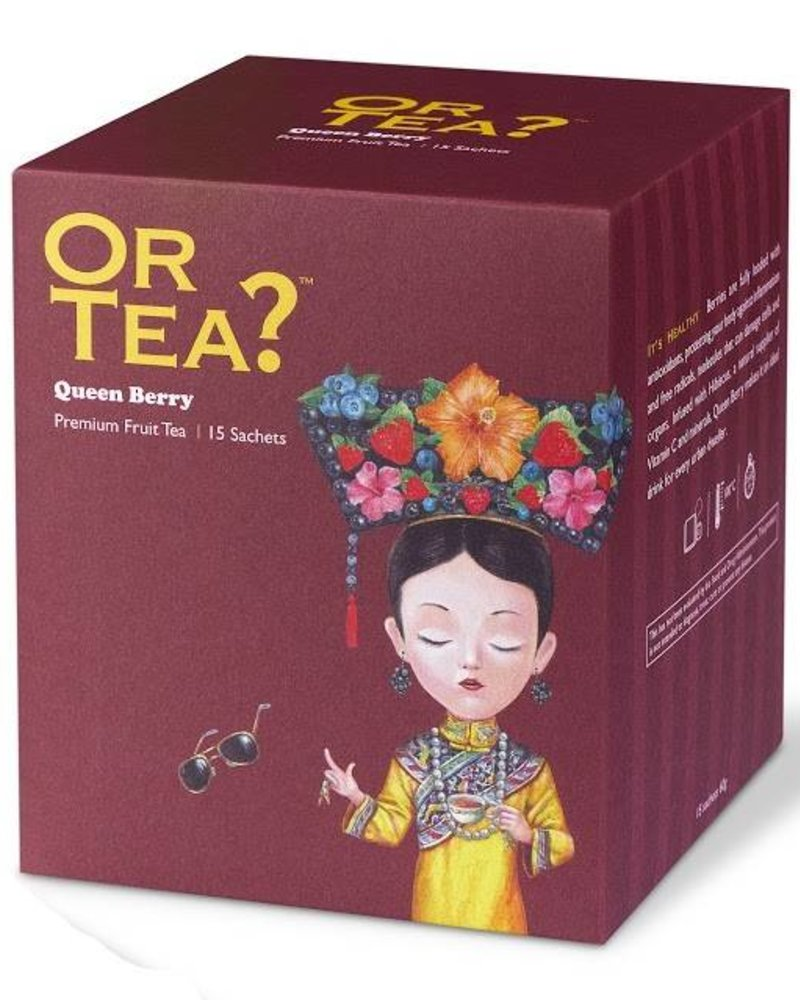 Or tea? Builtjes - Queen Berry