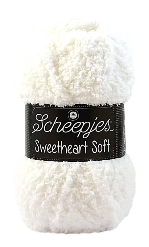 Scheepjeswol Sweetheart 20 sneeuwwit