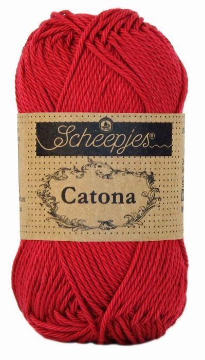 Scheepjeswol Catona 192 scarlet