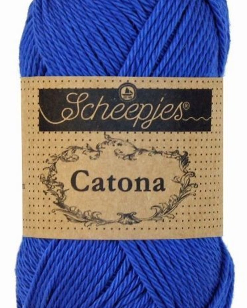 Scheepjeswol Catona 201 electric blue
