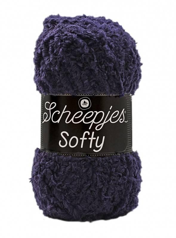 Scheepjeswol Softy 484 donkerblauw