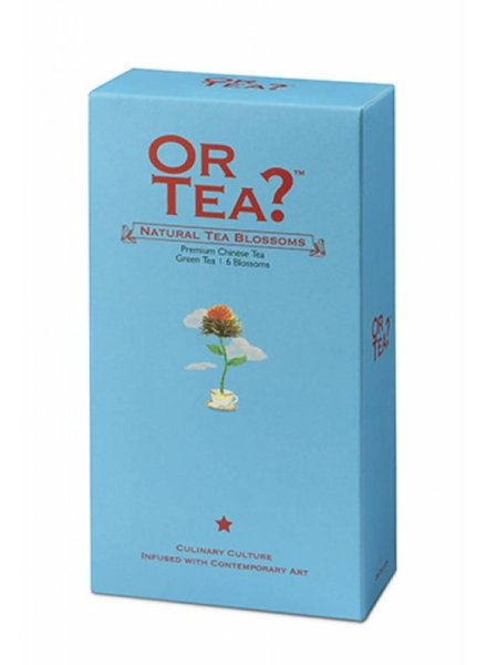 Or tea? Natural Tea Blossoms - Navulling (losse thee)