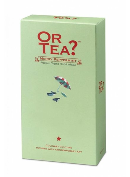 Or tea? Merry Peppermint - Navulling (losse thee)