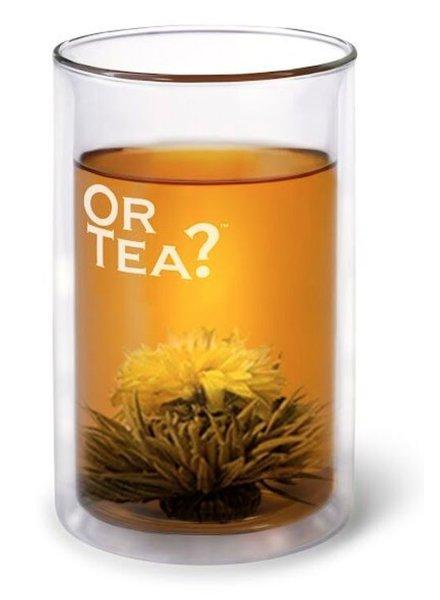 Or tea? The glass