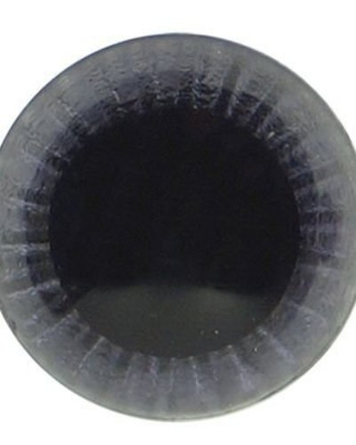 Oogjes zwart uil 12 mm