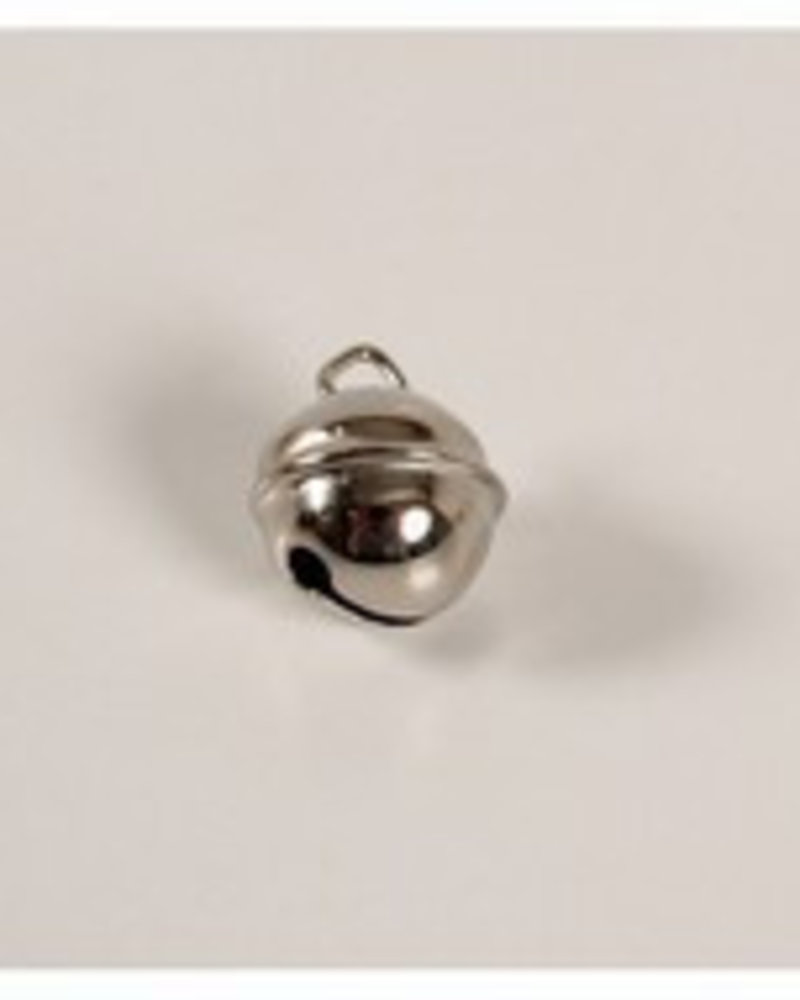 Belletje 19 mm zilverkleur