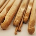 Bamboe haaknaald 12 mm