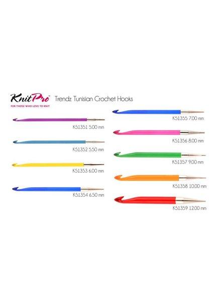 Knitpro Trendz Tunische haaknaaldpunt 8 mm