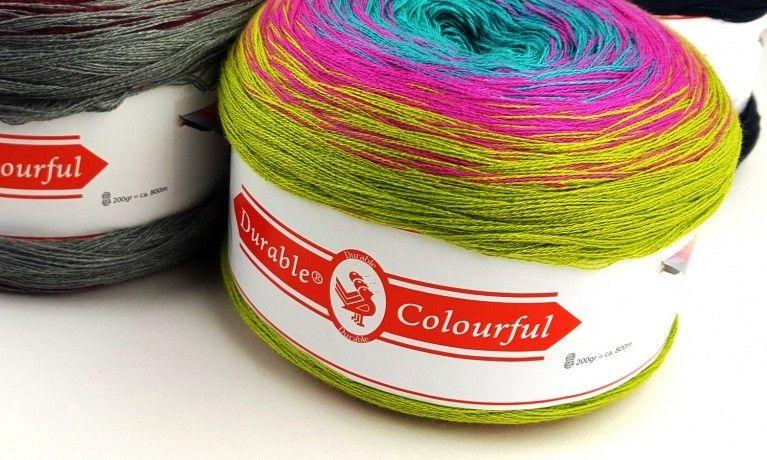Durable Colourful 5000