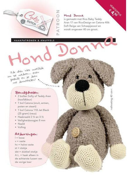 Patroon - Hond Donna