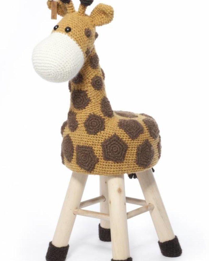 Haakpakket dierenkruk giraffe