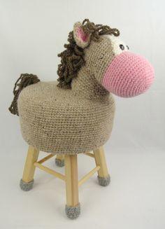 Haakpakket dierenkruk paard
