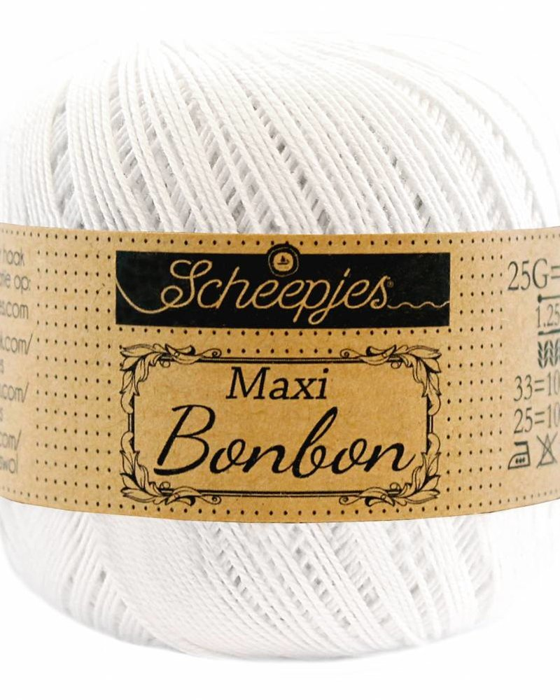 Scheepjeswol Maxi bonbon 106 snow white