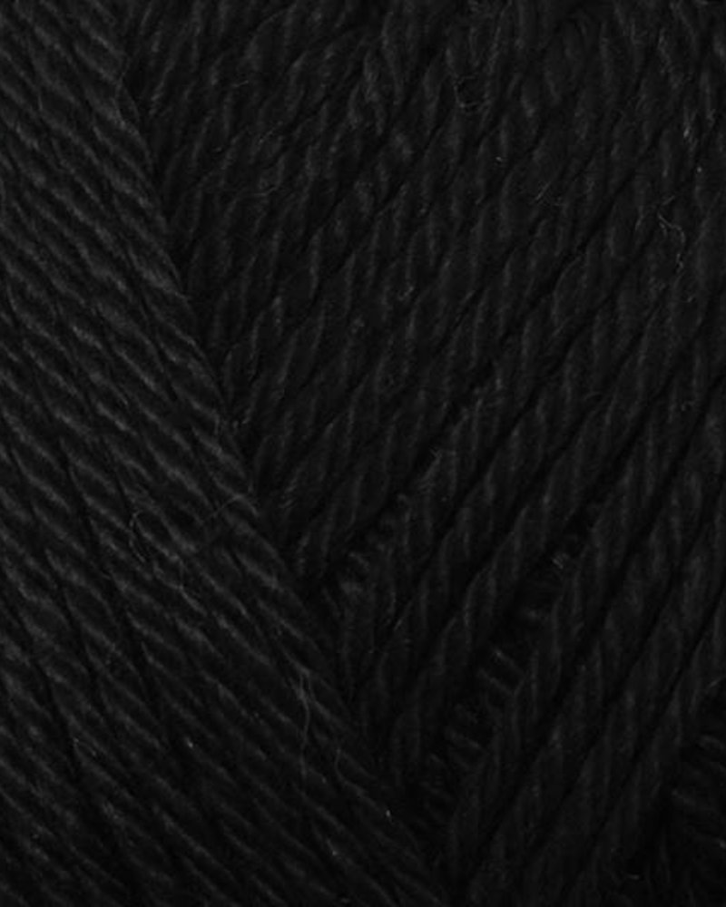 Yarn and colors Super-must have 100 black
