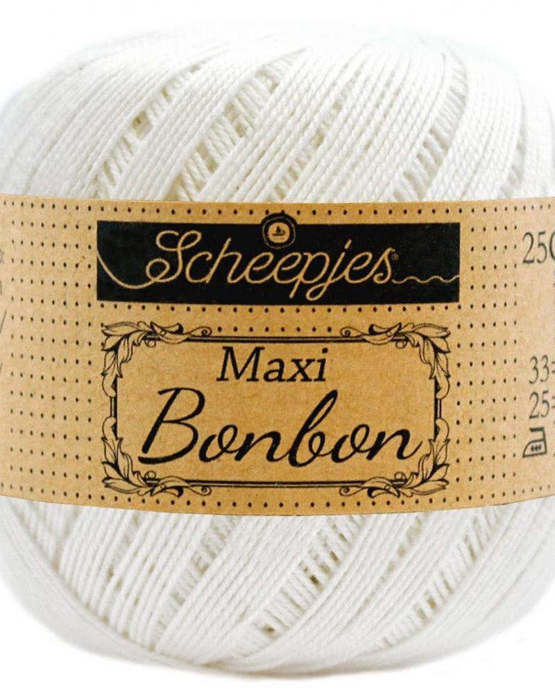 Scheepjeswol Maxi bonbon 105 bridal white