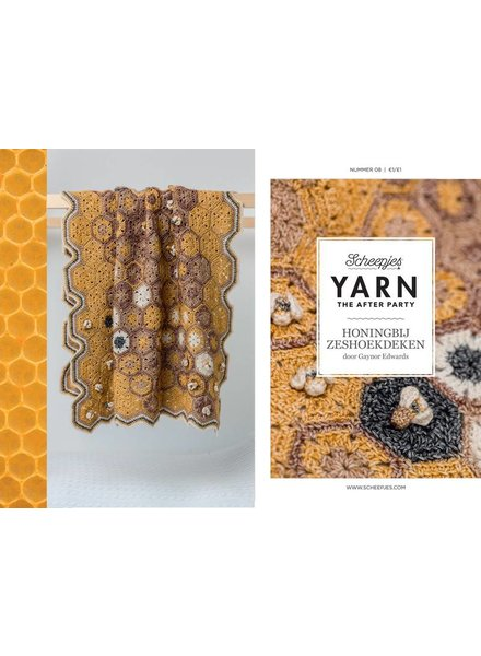 Patroon - Zeshoekdeken honingbij (Scheepjes Stone Washed)