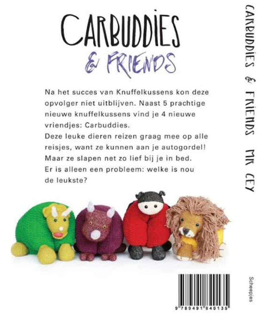 Boek - Carbuddies & friends
