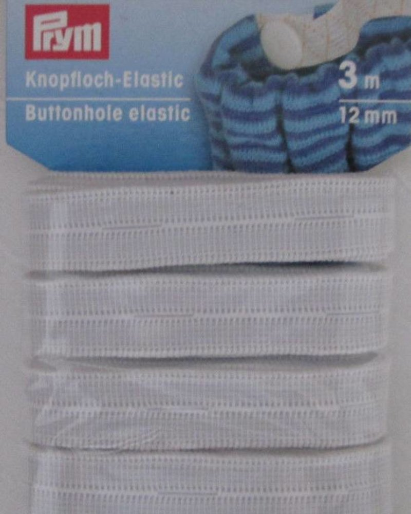 Koopsgaten elastiek 12 mm (3m)