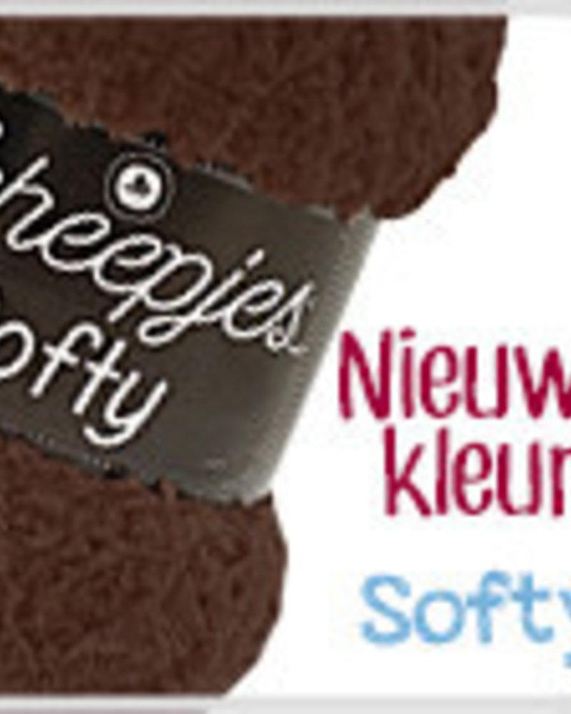 Scheepjeswol Softy 474 donkerbruin