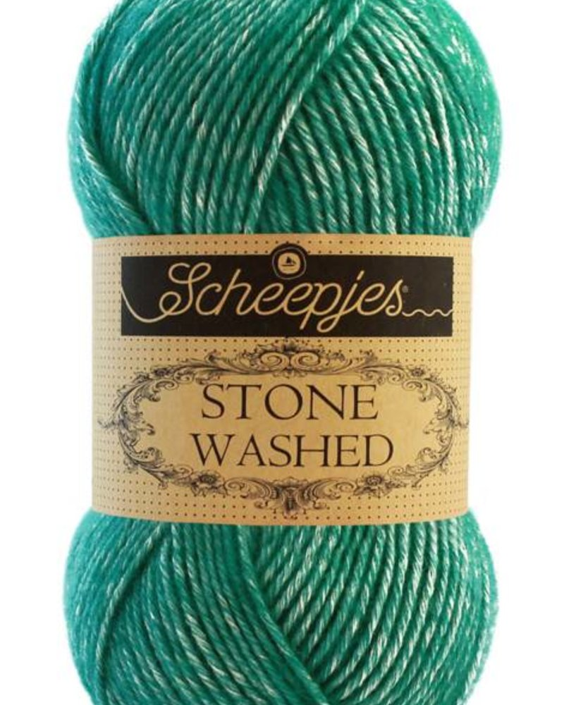 Scheepjeswol Stone Washed 825 malachite