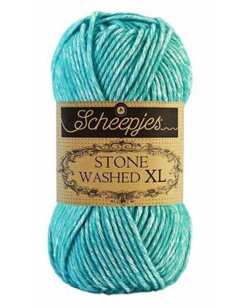 Scheepjeswol Stone Washed XL 864 turquoise