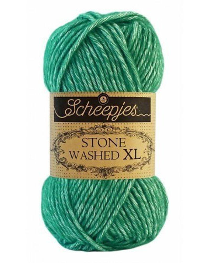 Scheepjeswol Stone Washed XL 865 malachite