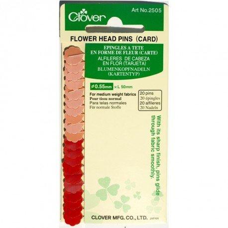 Clover Kopspelden Flower head - 20 stuks