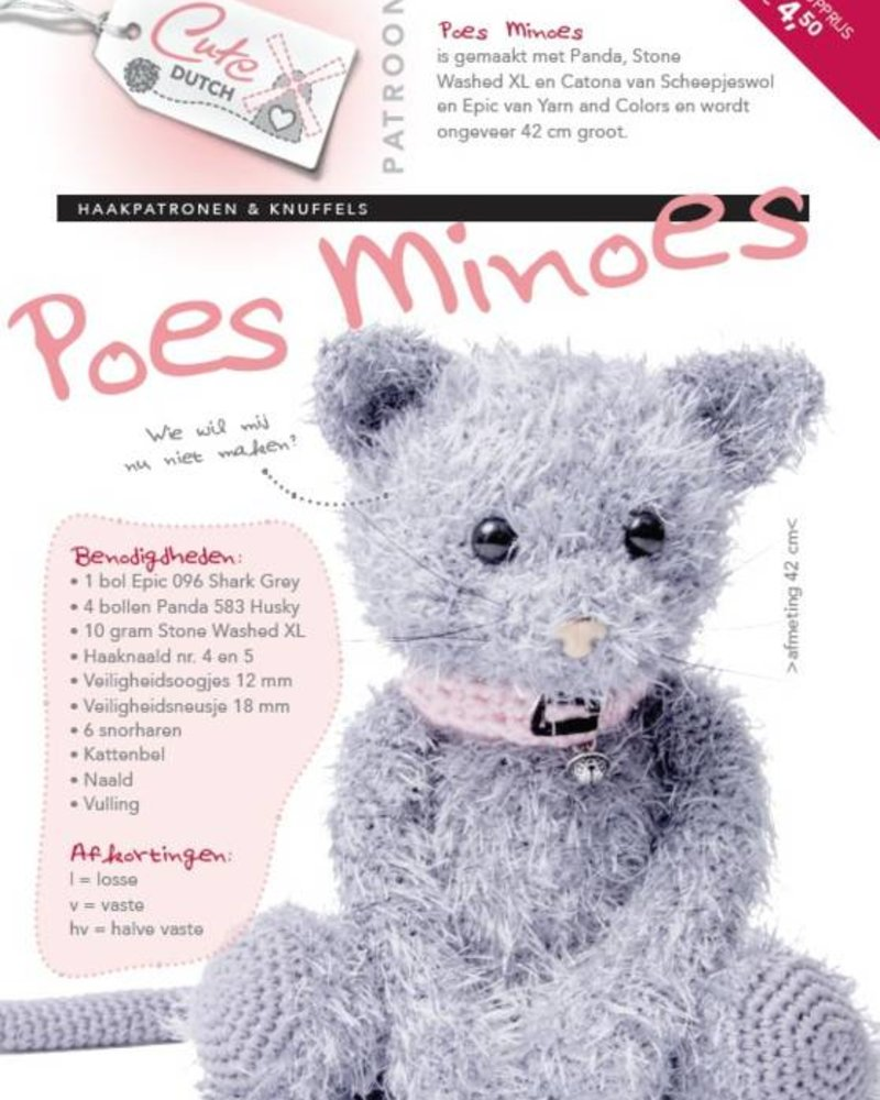 Patroon - Poes Minoes