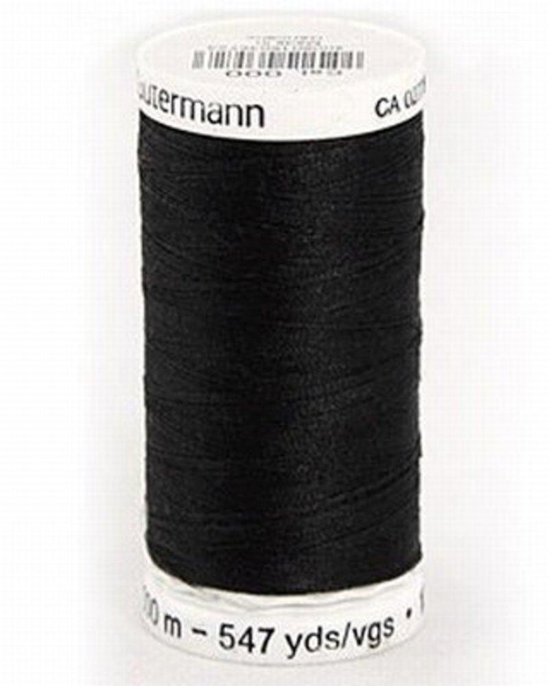 Naaigaren Gütermann 000 zwart (250 meter)